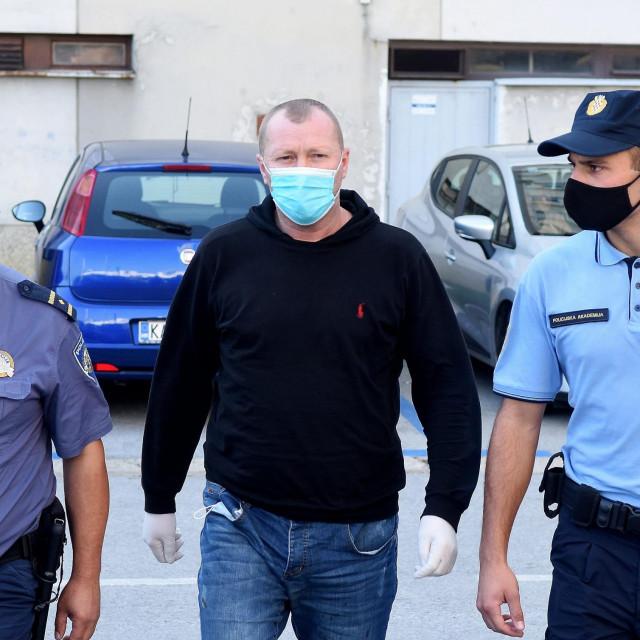 Vozač kamiona BiH registarskih oznaka priveden na ispitivanje u Županijsko državno odvjetništvo