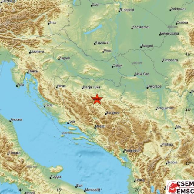 Potres u Zenici