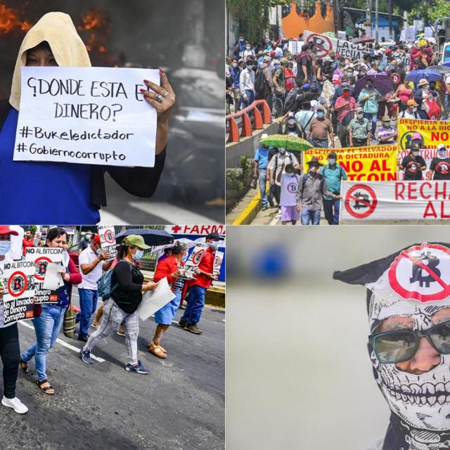 Prosvjed u Salvadoru zbog bitcoina