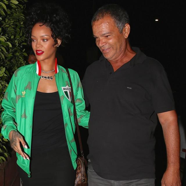 Rihanna s ocem Ronaldom Fentyjem