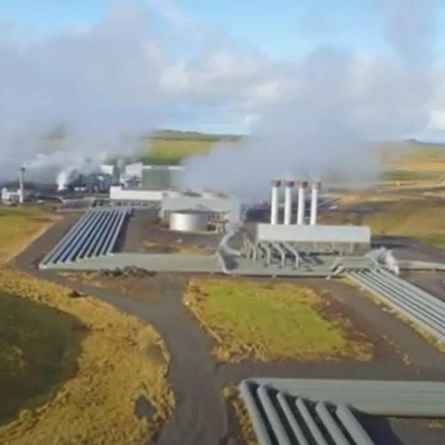 Postrojenje Orca za hvatanje CO2 iz zraka