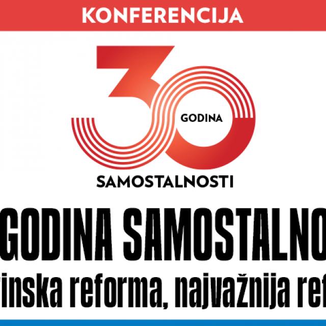 Konferencija Mirovinska reforma, najvažnija reforma