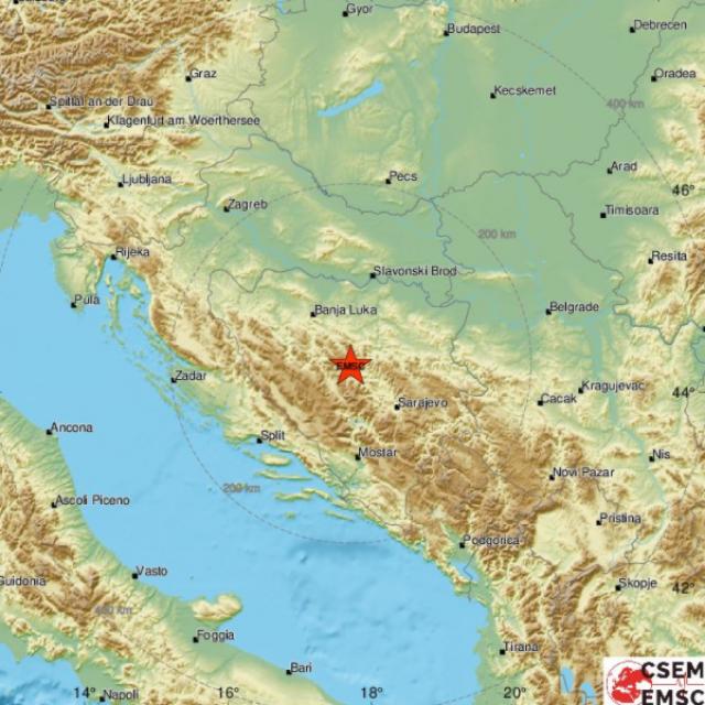 Potres kod Travnika