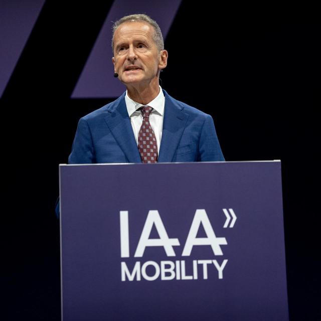 Herbert Dies, na IAA konferenciji, rujan, 2021.