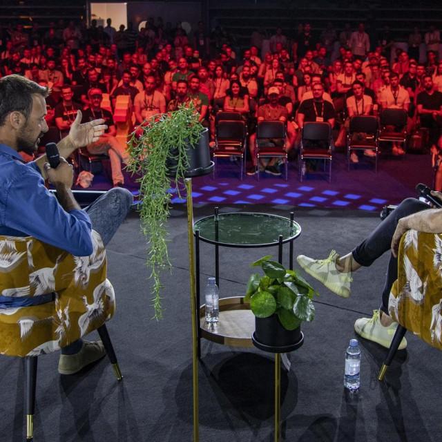 Ivan Burazin i Silvio Kutić na finalnom Fireside chatu