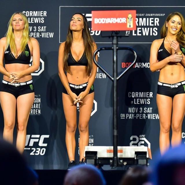 UFC Octagon djevojke