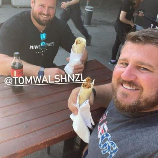 Tom Walsh i Joe Kovacs