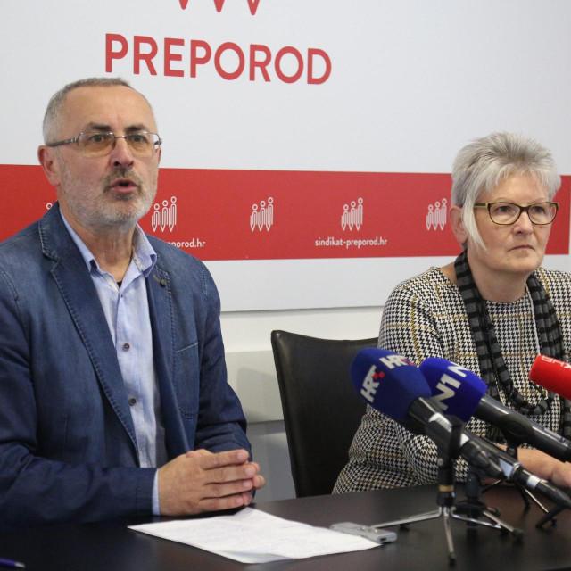 Željko Stipić, predsjednik školskog sindikata Preporod