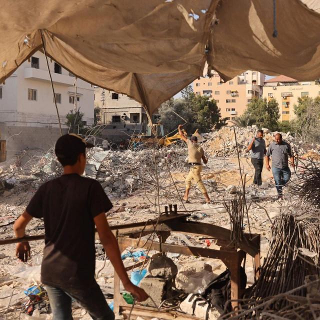 Prizor iz Gaze nakon izraelskih napada u kolovozu