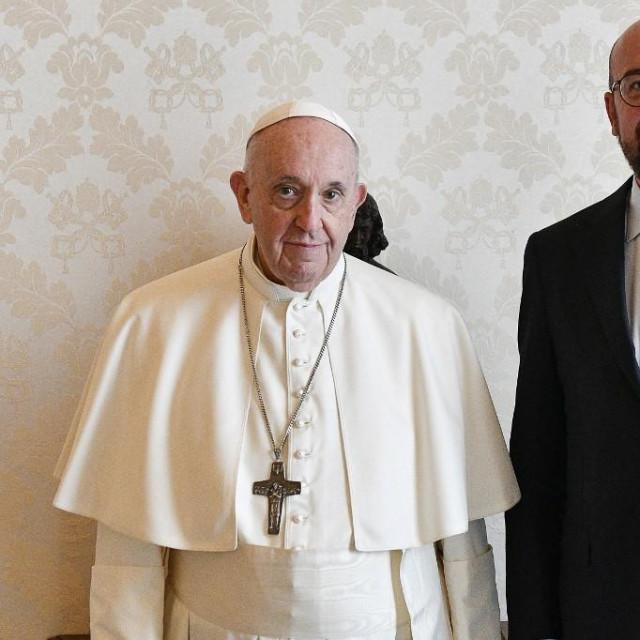 Papa Franjo i Charles Michel