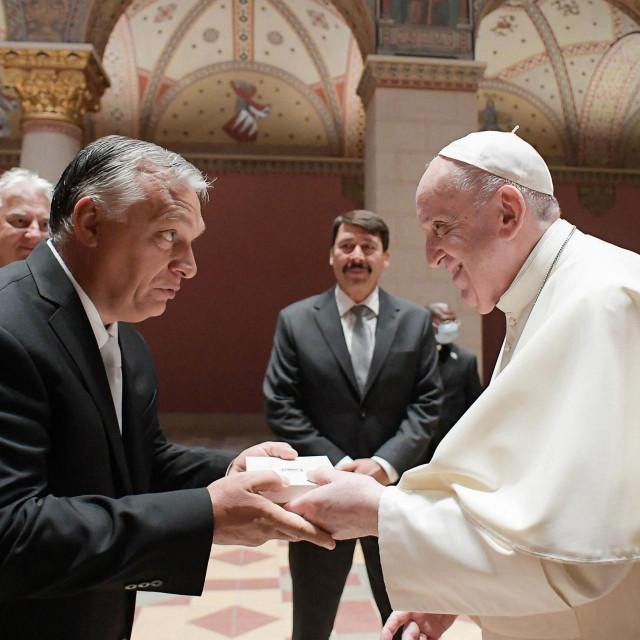 Viktor Orban i papa Franjo
