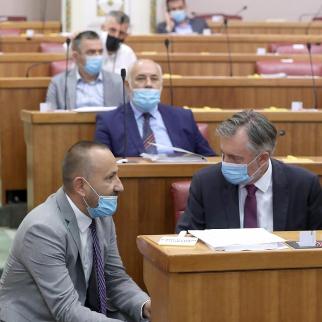 Hrvoje Zekanović i Miroslav Škoro