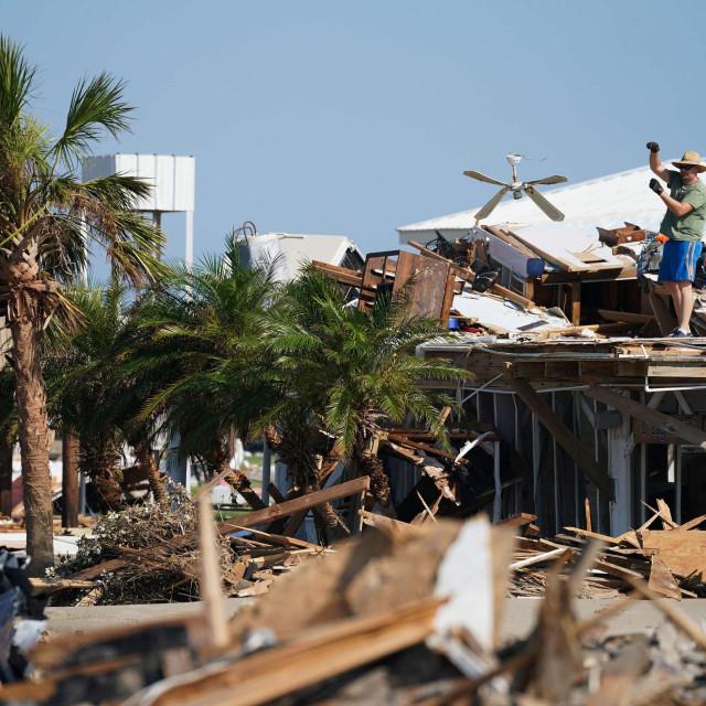 Šteta nakon uragana Ida