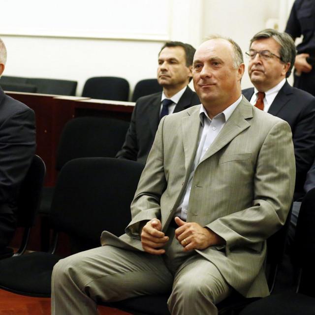 Milan Horvat i Damir Polančec, a u drugom redu Zdravko Šestak, Saša Romac i Josip Pavlović