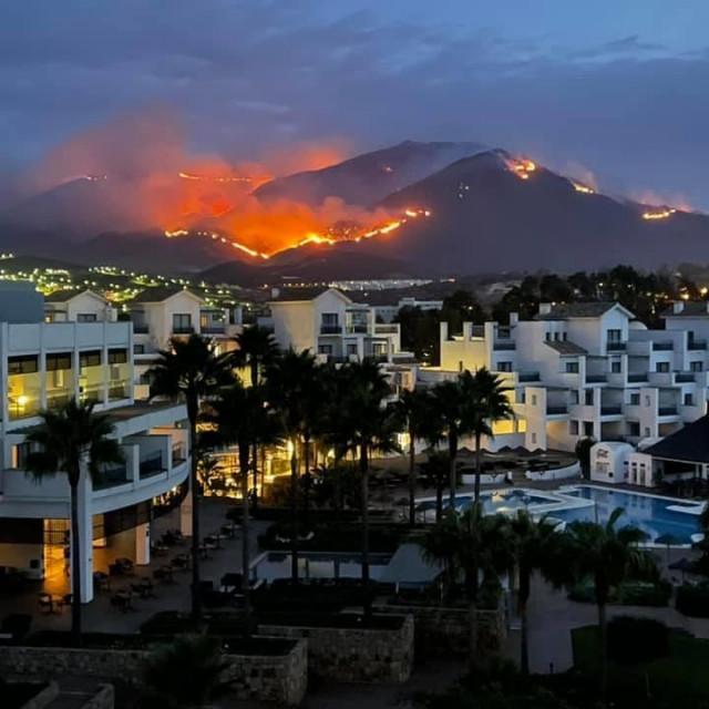 Požar kod Estepone