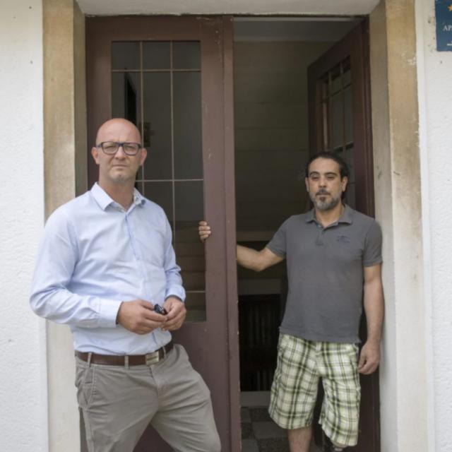 Matty Ćenan i njegov odvjetnik Mihovil Jović