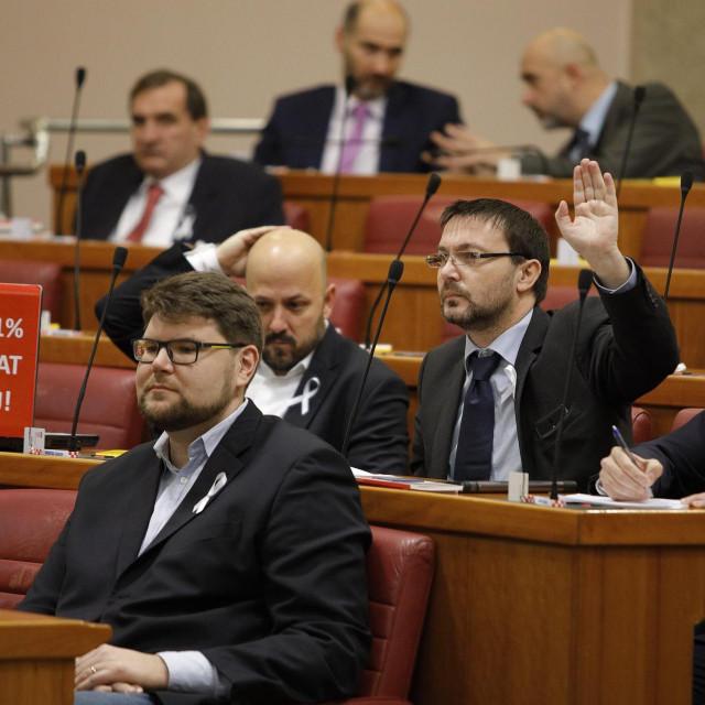 Peđa Grbin, šef SDP-a i saborskog kluba, danas za 17 sati sazvao je sastanak kluba