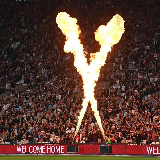 Navijači West Hama na svom stadionu u Londonu