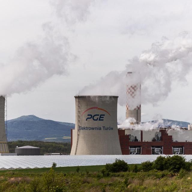 Termoelektrana u Poljskoj; ilustracija