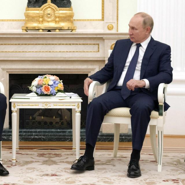 Vladimir Putin i Bašar al-Asad