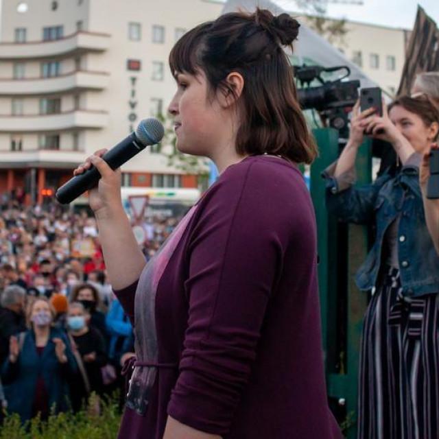 Aktivistica Nika Kovač
