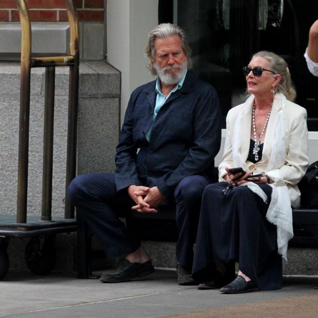 Jeff Bridges s suprugom Susan Geston