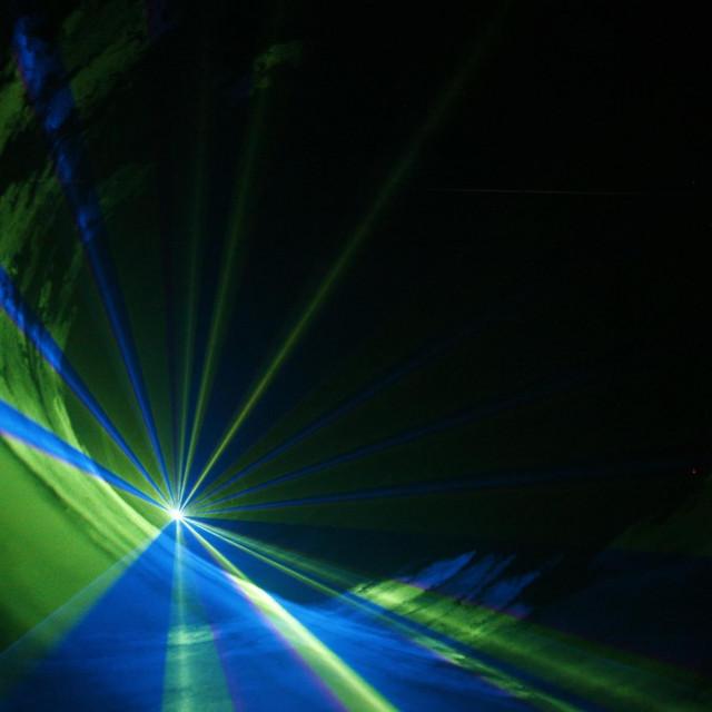 Laseri ilustracija