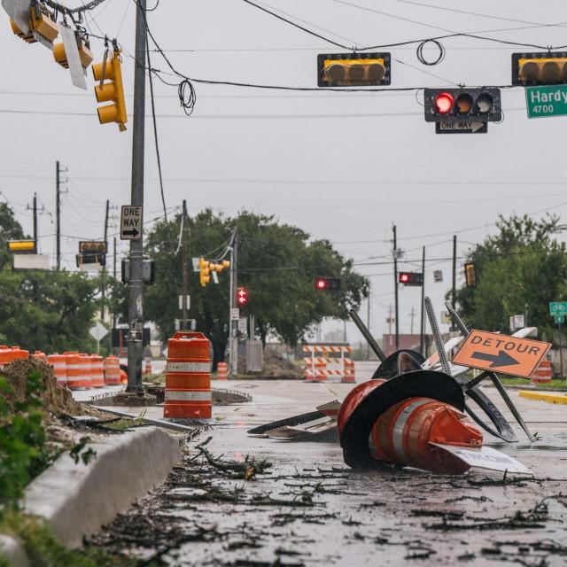 Tropska oluja Nicholas u Houstonu