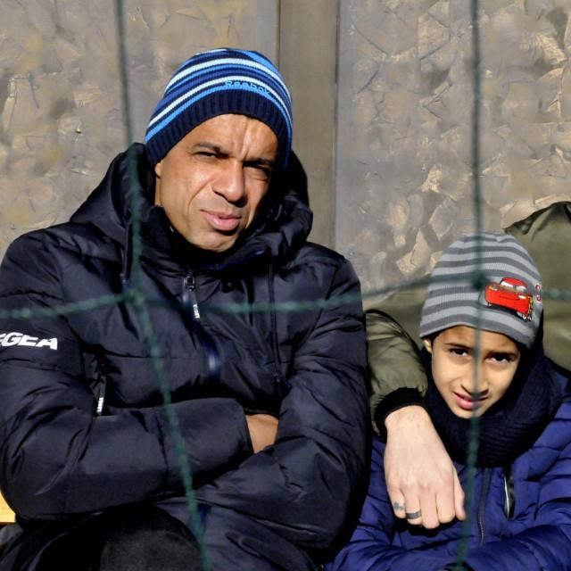 Klupska legenda širokog Brijega Wagner Santos Lago sa sinom Davijem i nekadasnjim suigračem Juanom Manuelom Vareom