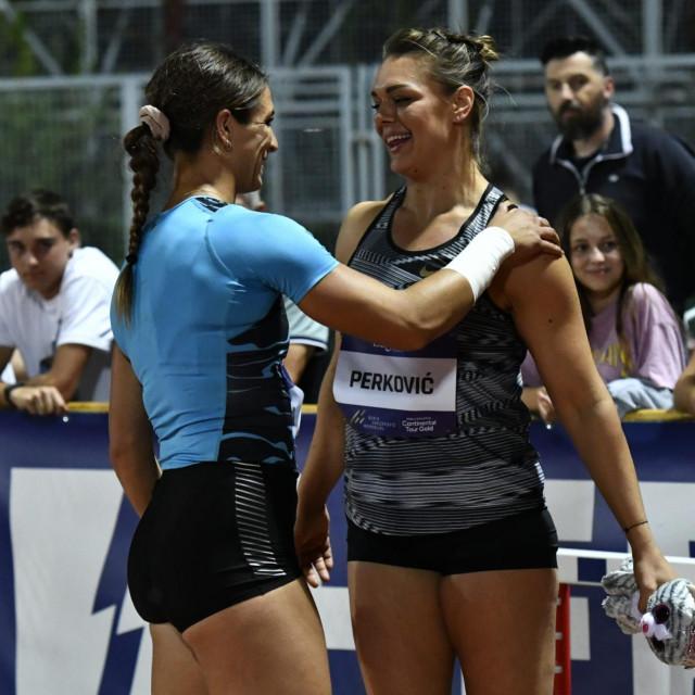 Sandra Perković i Valerie Allman<br />