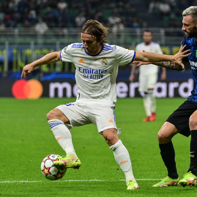 Luka Modrić i Marcelo Brozović
