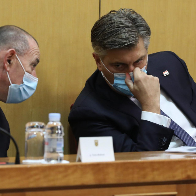 Andrej Plenković i Tomo Medved