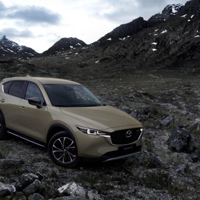 2022 Mazda CX-5 redizajn