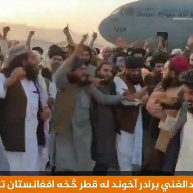 Dolazak Abdula Ghani Baradara u Afganistan