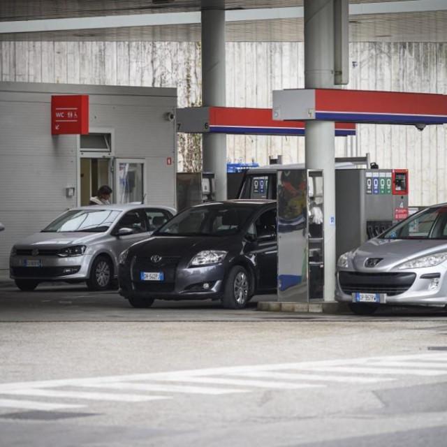 Benzinska postaja u Sloveniji, Ilustrativna fotografija