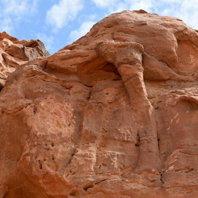 Reljefi pronađeni sjeverno od grada Sakake na sjeverozapadu Saudijske Arabije