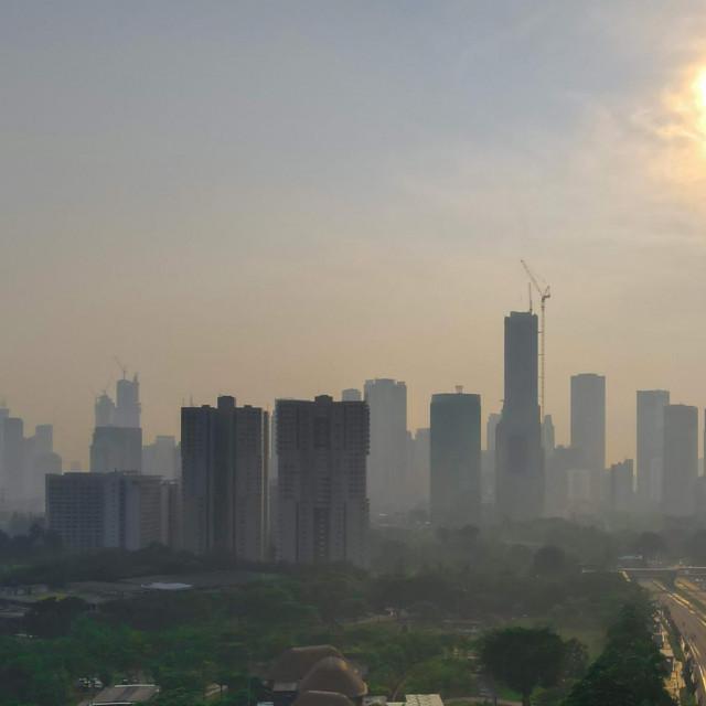 Zagađen zrak u Džakarti