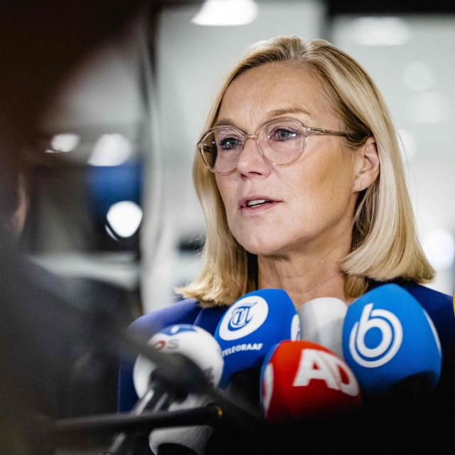 Odlazeća nizozemska ministrica Sigrid Kaag