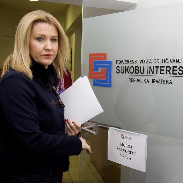 Nataša Novaković, šefica Povjerenstva za odlučivanje o sukobu interesa