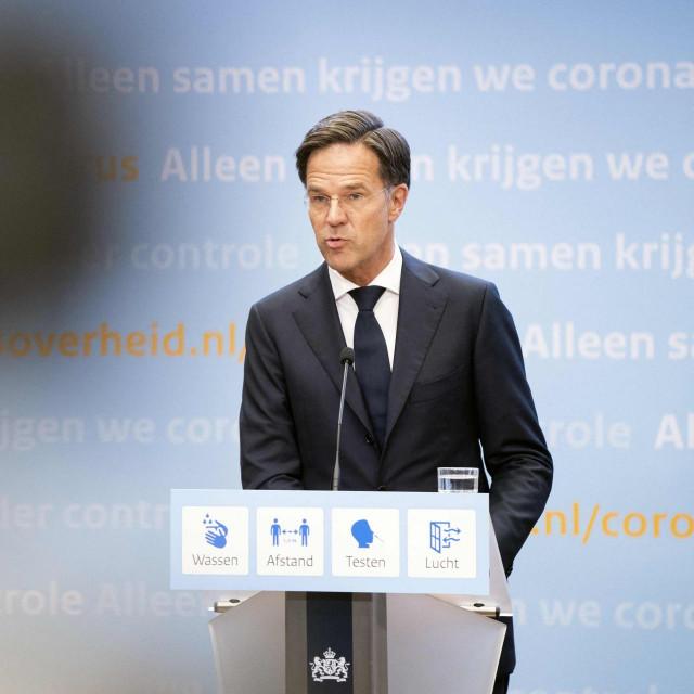 Mark Rutte, nizozemski premijer