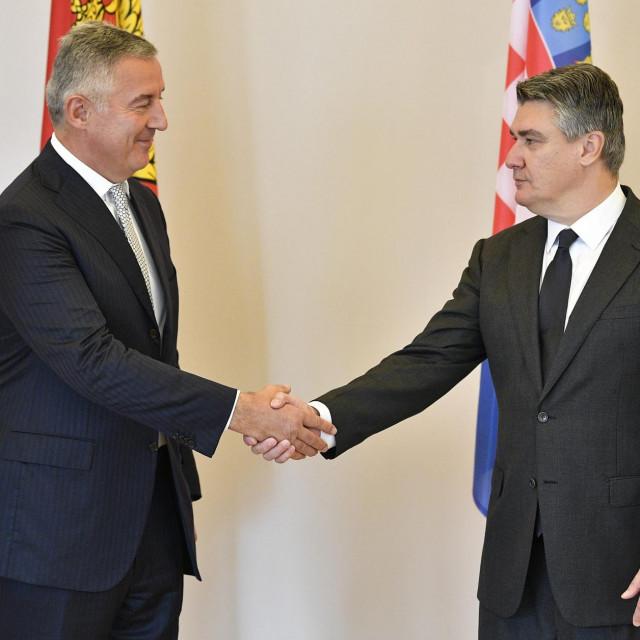 Milo Đukanovic iZoran Milanović