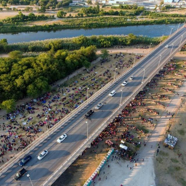 Most između Del Rija u Teksasu i Acuñe u Meksiku