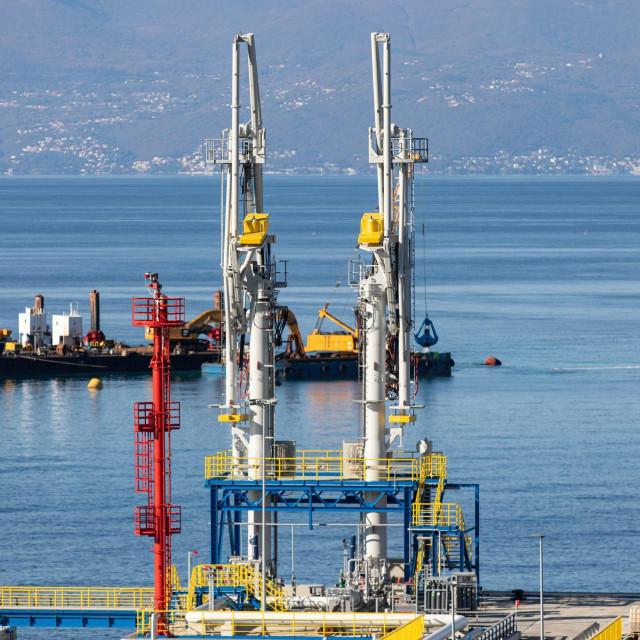 Izgradnja kopnenog terminala za ukapljeni prirodni plin