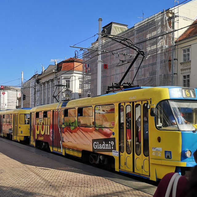 ZET iznajmljuje tramvaje za reklame