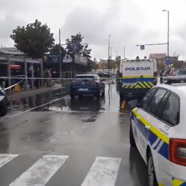 Slovenska policija na mjestu pucnjave