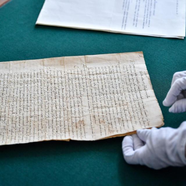 Predstavljeni prijepisi pisama dvojice sudionika slavne Magellanove posade koji se čuvaju u dubrovačkom arhivu.