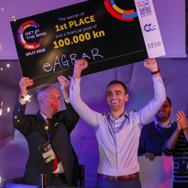 Pobjednik Slaven Damjanović iz 2019.