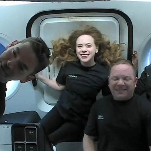 Posada svemirske letjelice Inspiration4