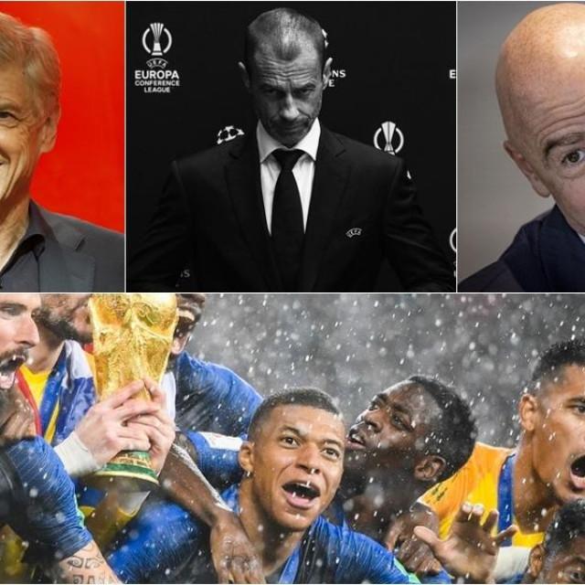Wenger, Čeferin, Infantino i Francuska reprezentacija