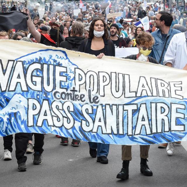 Prosvjed u Nantesu